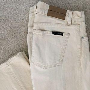 Ralph Lauren Distressed 380 Skinny Jeans 27  $425